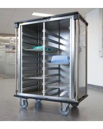 Belintra ISO Closed Aluminum Transport Trolley